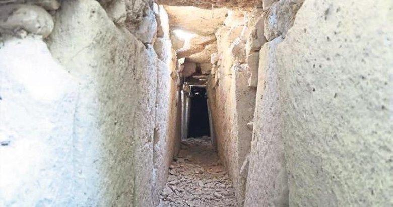 Tripolis'te 2 bin yıllık kanalizasyon bulundu