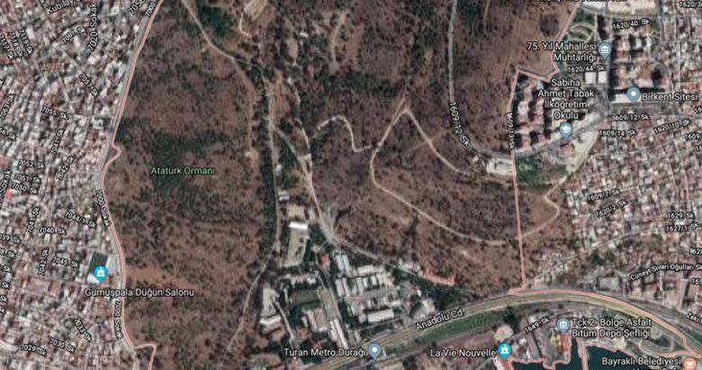 Kolokotronis adı silindi, Atatürk Orman Yolu oldu