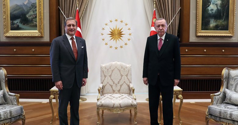 Başkan Erdoğan'dan önemli kabul