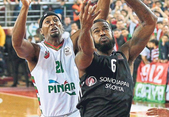 Uşak ve Beşiktaş zaferleriyle çıkışa geçen Pınar Karşıyaka Sakarya BŞB'nin konuğu oluyor.