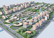 Uşak'ın yeni merkezine yatırımcılardan tam not