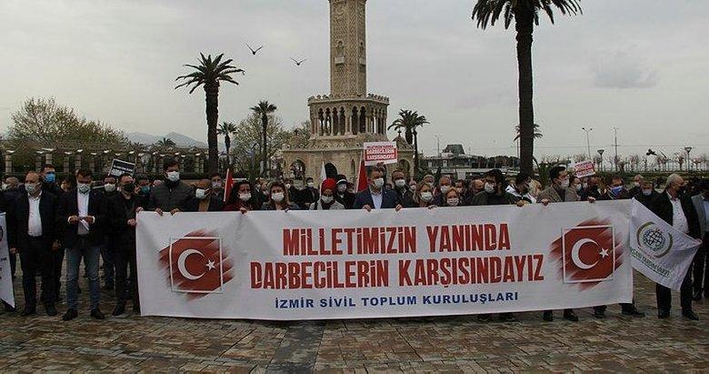 İzmir Sivil Toplum Kuruluşları Platformundan emekli amirallerin skandal bildirisine tepki