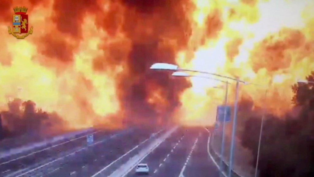 İtalya Bologna'daki patlama ardından ortaya çıkan dehşet verici tablo!
