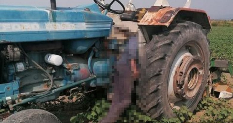 Aydın'da korkunç son! Traktörüne yaslanmış halde ölü bulundu