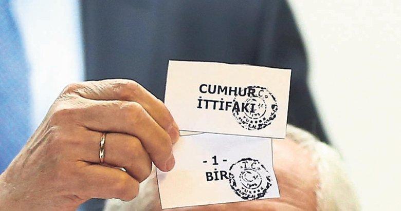 Cumhur İttifakı ve AK Parti ilk sırada