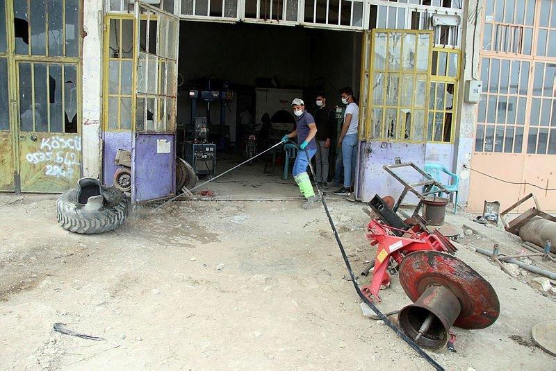 Uşak'ta jant tamiri sırasında lastik patladı, tamirci öldü