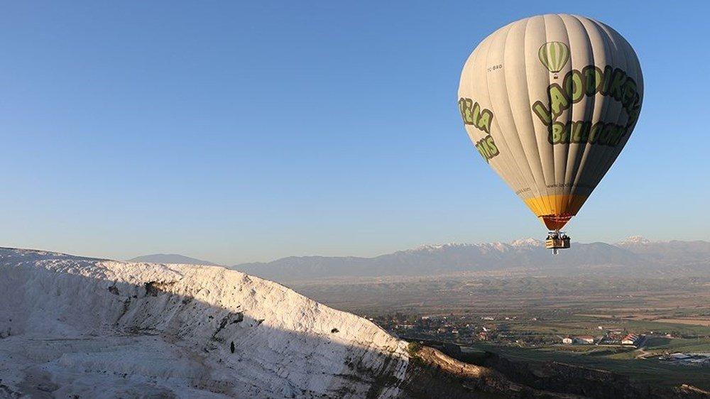 Tarih belli oldu! Pamukkale'de balon uçuşları ne zaman başlıyor? Rezervasyonlar doldu mu? Uçuşlar nasıl yapılacak?