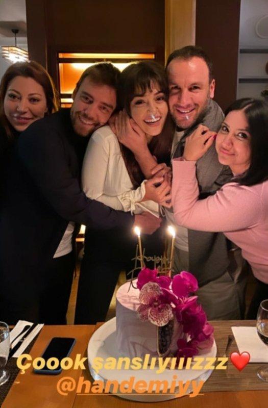 Azize'nin yıldızı Hande Erçel'in doğum günü paylaşımı sosyal medyayı salladı