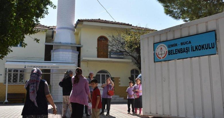 Okul inşaatı bitirilemedi eğitime konteynerde devam