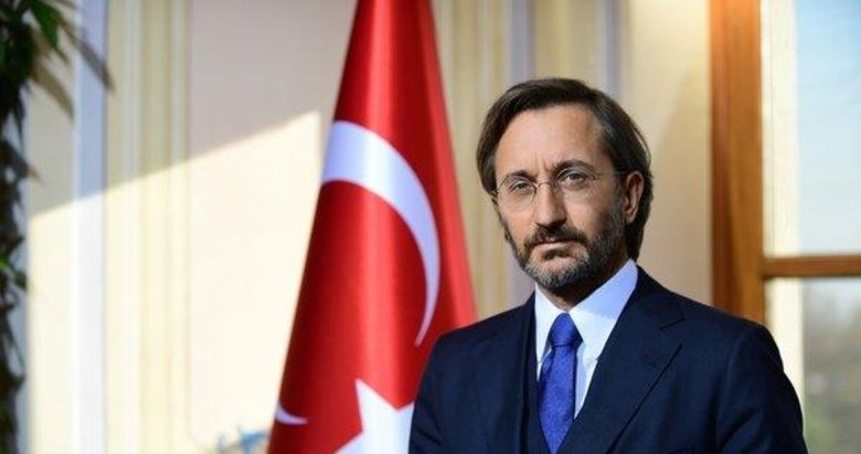 İletişim Başkanı Altun'dan skandal bildiriye tepki: Hukuk önünde hesap verecekler