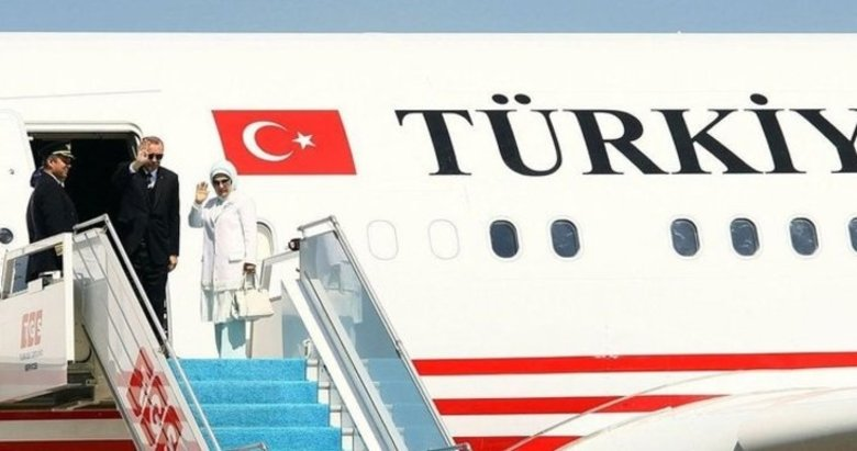 Başkan Recep Tayyip Erdoğan ABD'den ayrıldı