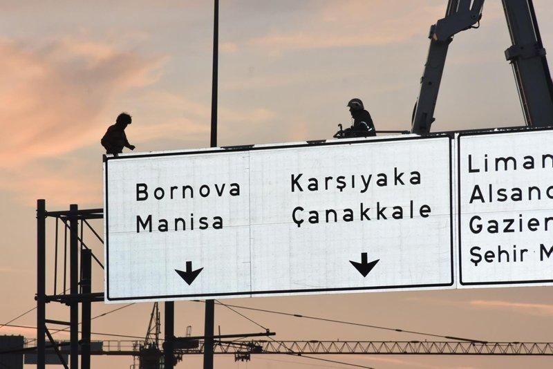 İzmir Konak'ta hareketli anlar! Herkes oraya koştu