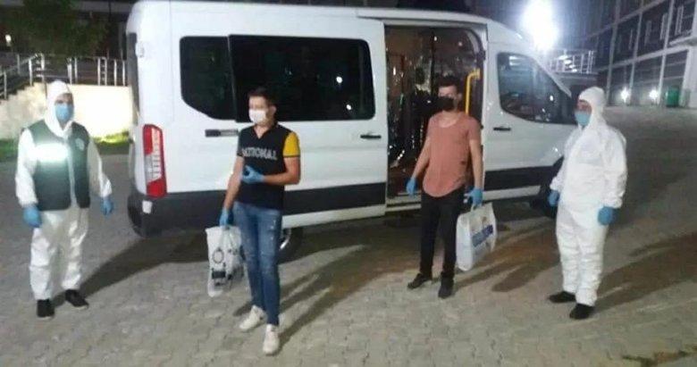 Kütahya'da karantina kuralını ihlal eden 3 kişi yurda yerleştirildi