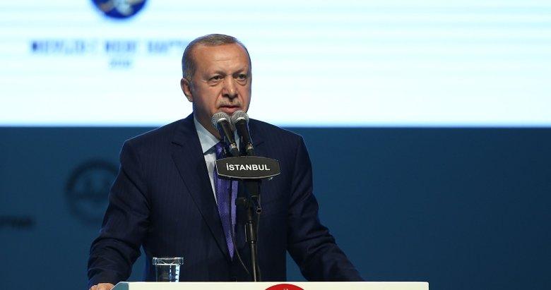 Başkan Erdoğan'dan net mesaj: Biz bunlara eyvallah edemeyiz