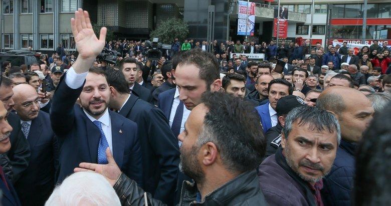 Bakan Albayrak: Cumhur İttifakı noktasında Nazilli'de müthiş bir enerji var