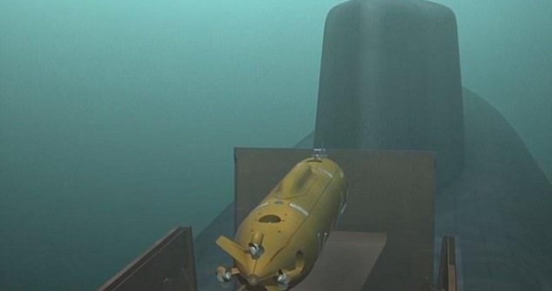 Putinin kamikaze denizaltısı göründü