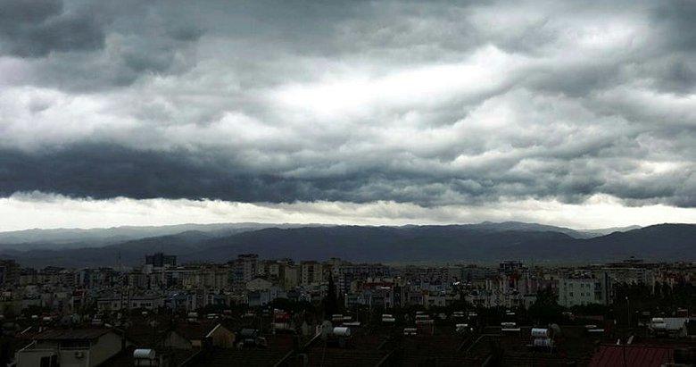 İzmir ve Aydın'ın için şiddetli yağış uyarısı