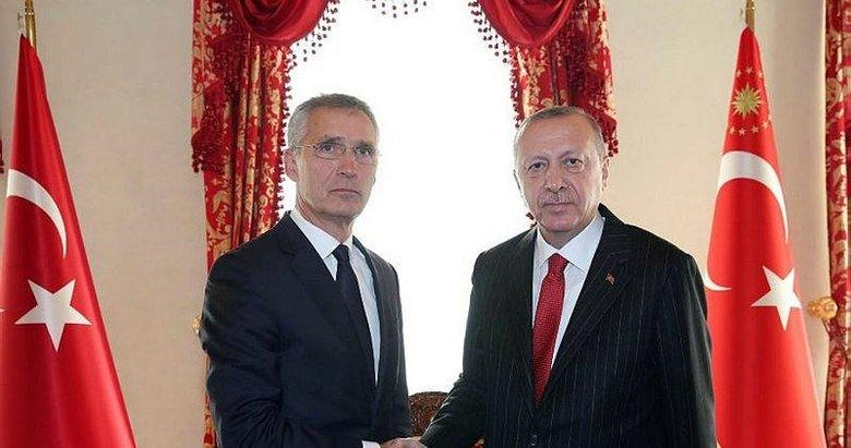 Başkan Erdoğan ve Stoltenberg'ten önemli görüşme