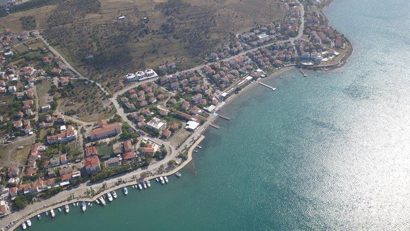 Kuzey Ege turizminin gözdesi Cunda Adası misafirlerini ağırlamaya başladı