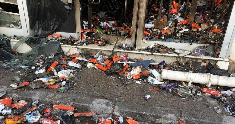 İzmir'deki yangında bilanço gün ağarınca ortaya çıktı