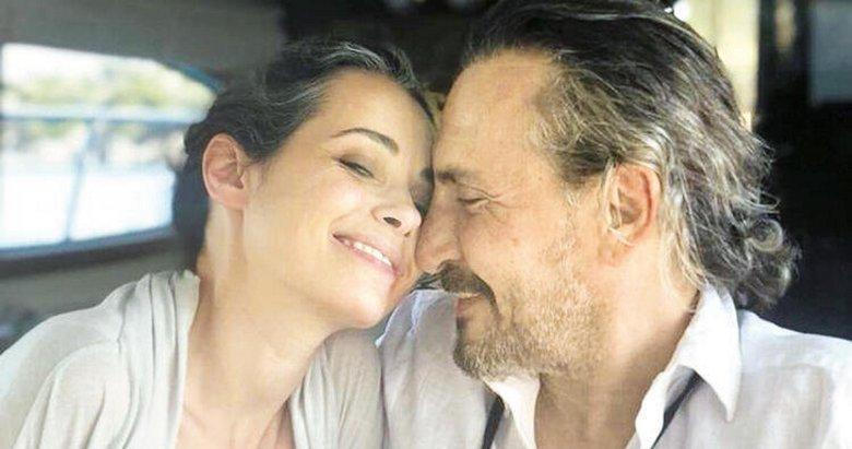 Eşinin vefatıyla sarsılan oyuncu Özgü Namal oğlu Nefes ile görüntülendi