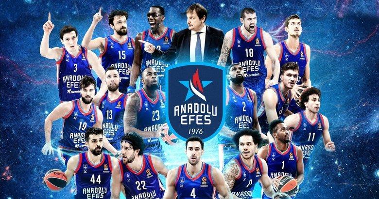 Son dakika: Anadolu Efes EuroLeague Şampiyonu oldu
