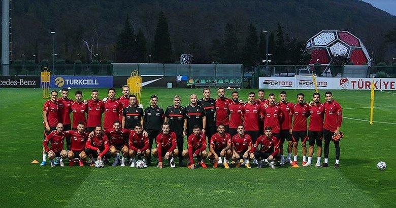 A Milli Futbol Takımı hazırlıklara başladı