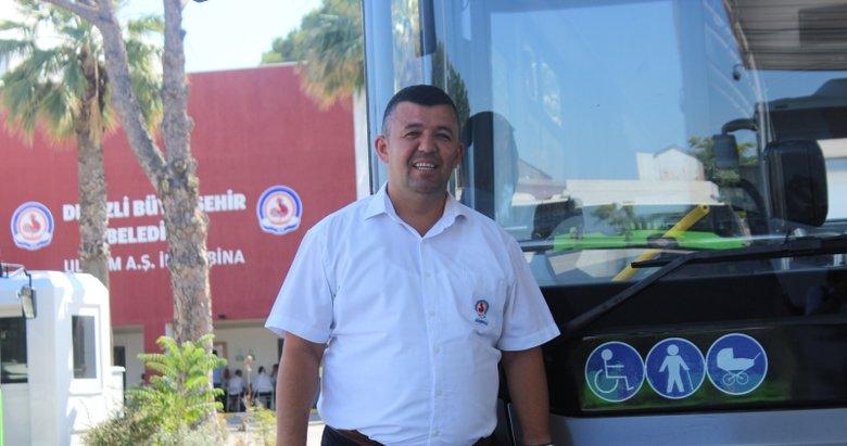 Denizli'de 'İnsanlık ölmemiş' dedirten davranış! Halk otobüsünde rahatsızlanan yolcuyu, şoför hastaneye yetiştirdi