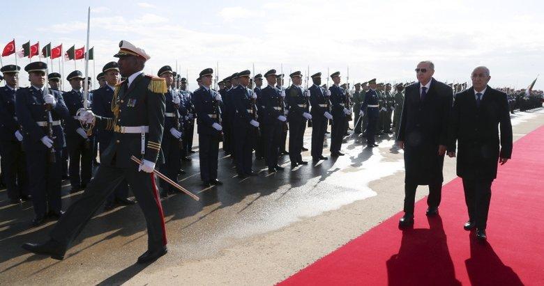 Başkan Erdoğan'ın Cezayir ziyareti Arap dünyasında geniş yankı buldu