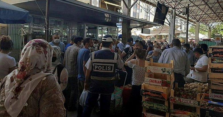 İzmir'de hareketli anlar! Sırt çantasından cüzdan çalan kadın yakalandı