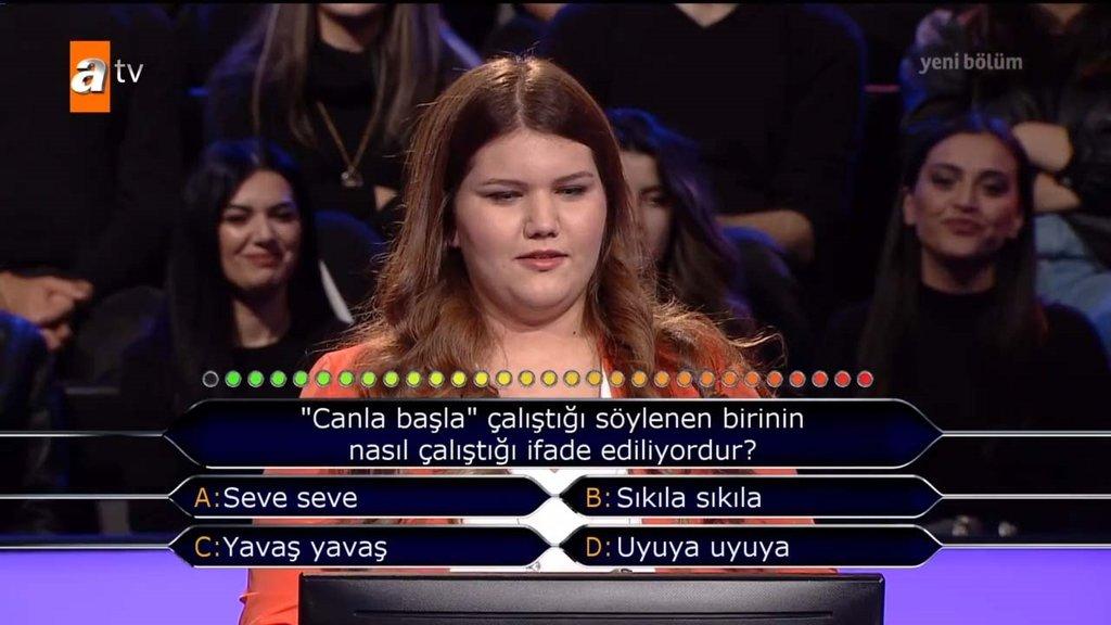 Kim Milyoner Olmak İster son bölüm soruları ve cevapları!  Kim Milyoner Olmak İster 845.yeni bölüm soru ve cevapları...