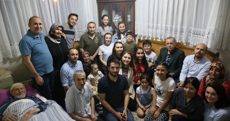 Başkan Recap Tayyip Erdoğan'dan Emekçi ve Soyutürk ailelerine ziyaret