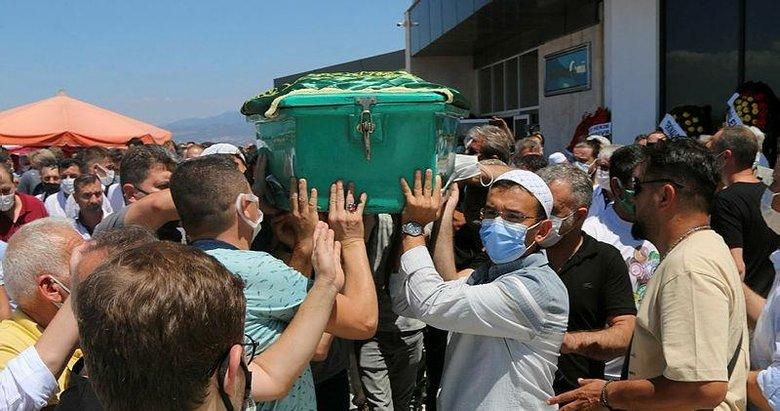 Akhisarspor eski Başkanı Hüseyin Eryüksel son yolculuğuna uğurlandı