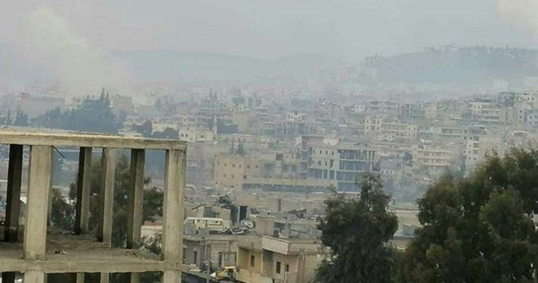 Afrin'e YPG-PKK'dan füze saldırısı!