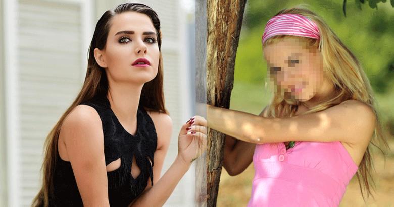 Çocuk dizisinin Şule'si Ceyda Ateş'in yıllar önceki fotoğrafı ortaya çıktı