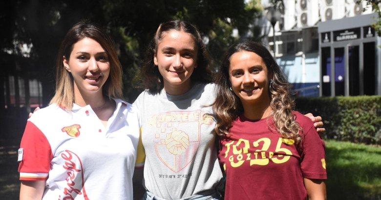 İzmir'in sporcu süper kızları