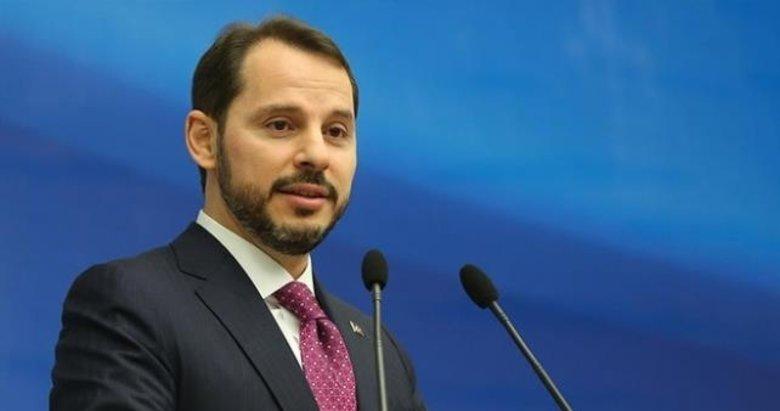 Hazine ve Maliye Bakanı Berat Albayrak'tan indirim ve istihdam mesajı