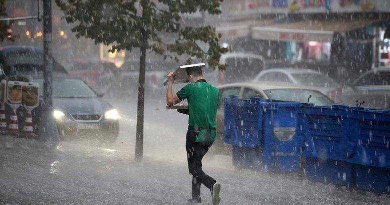 AFAD'dan 7 il için çok kuvvetli yağış uyarısı