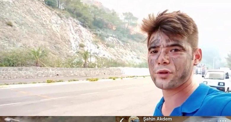 Canla başla mücadele etti! Su taşırken hayatını kaybeden Şahin'in yürek burkan paylaşımı