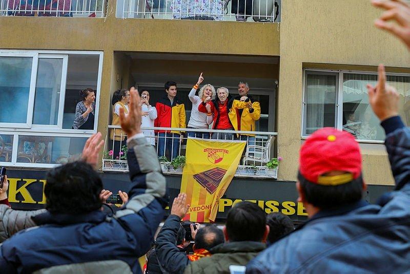 Göztepe evine dönüyor! İzmir ayakta!