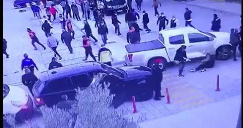 Ünlü oyuncu Mustafa Üstündağ'ın silahlı kavgasının görüntüleri ortaya çıktı