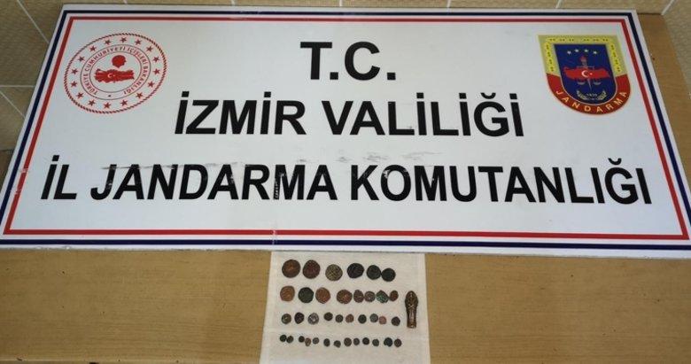 İzmir Buca'da tarihi eser operasyonu