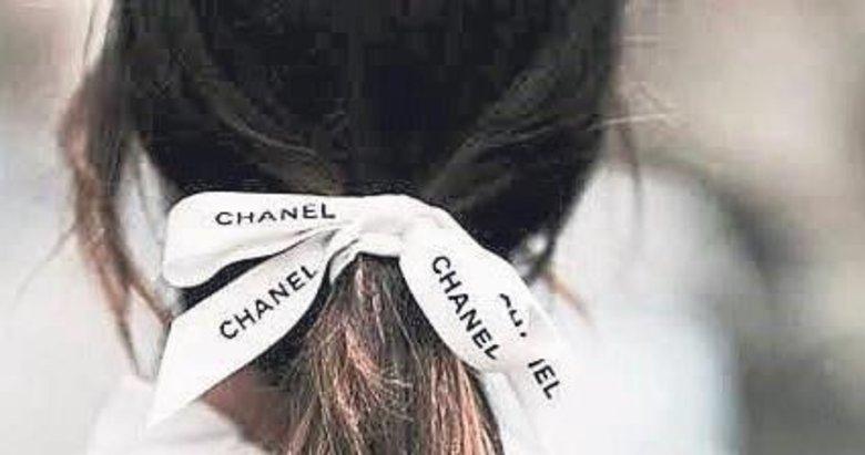 Saçlarda kurdele modası