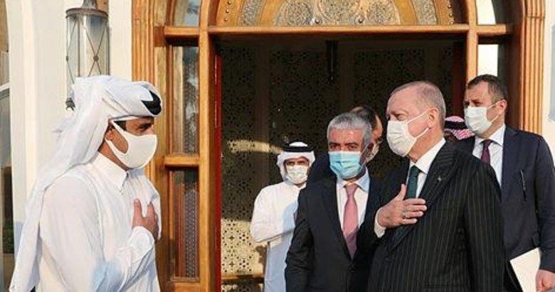 Kılıçdaroğlu'nun Erdoğan, Katar Emiri Temim'in önünde eğildi yalanına görüntülü cevap
