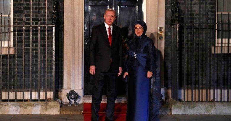 Başkan Erdoğan, İngiltere Başbakanlık ofisinde