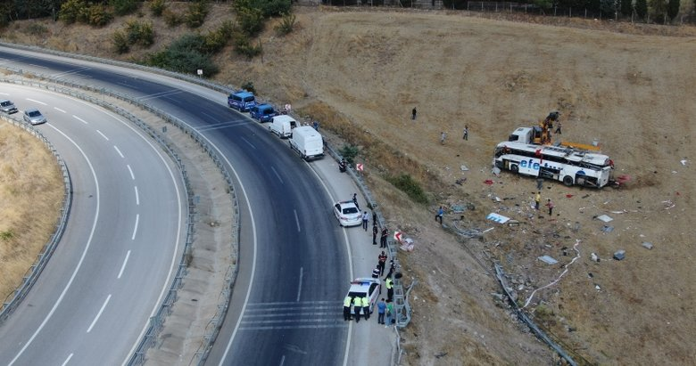 Balıkesir'de 15 kişiye mezar olan katliam virajı! 95 km hız 40 metre fren izi...
