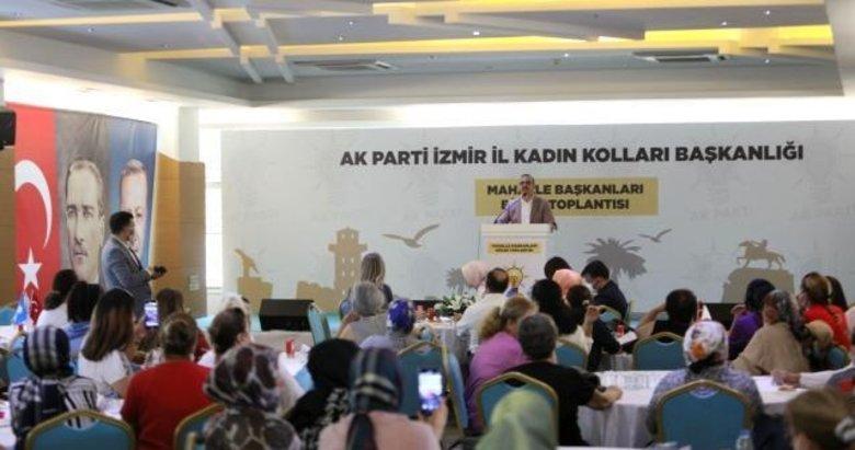 AK Kadın İzmir'den Mahalle Başkanları Bölge Toplantısı