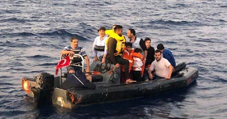 İzmir Çeşme'de 79 kaçak göçmen yakalandı