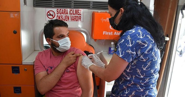 Ülke genelinde uygulanan aşı miktarı 75 milyonu geçti