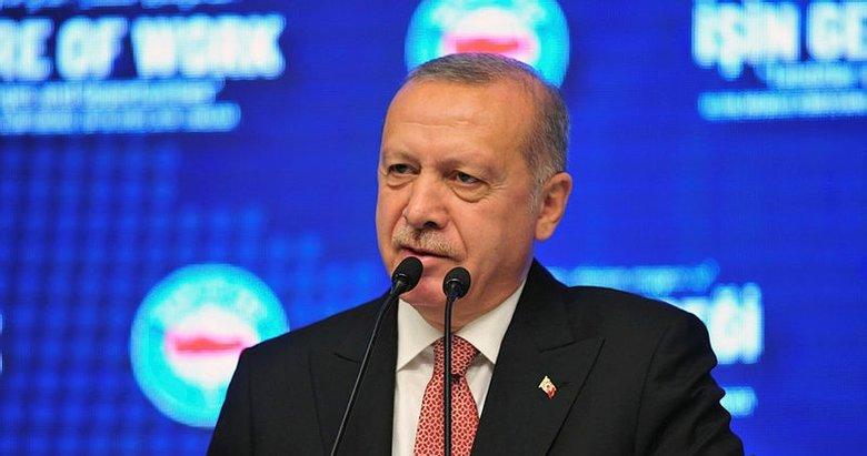Başkan Erdoğan'dan net mesaj